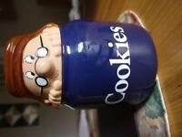 Tetley Teafolk Cookies Jar