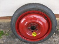 * * * NEW Continental Spave saver, Vauxhall spare wheel Saab 16 inch 5 Stud NEW* * *