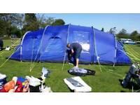 Suncamp Haven 800 tent plus accessories