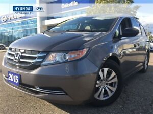 2015 Honda Odyssey SE | 8 PASS | ALLOYS | CAM | ONE OWNER