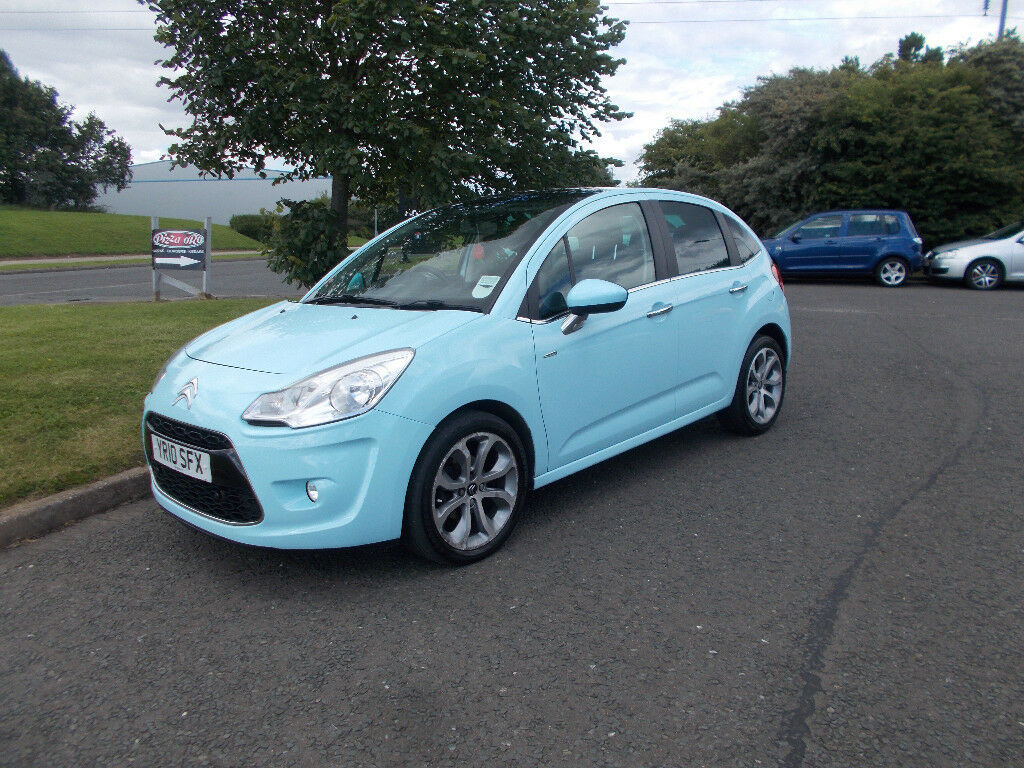 citroen c3 exclusive top of the range 1 6 hdi diesel baby blue 2010 bargain 2450 look px. Black Bedroom Furniture Sets. Home Design Ideas