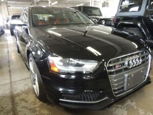 2013 Audi S4 3.0T PREMIUM PLUS, LEATHER, BACK UP CAMERA