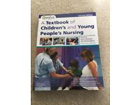 A Text Book of Children's and Young Peoples Nursing