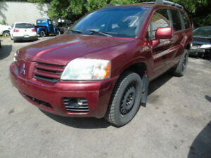 2004 Mitsubishi Endeavor/Leather/Awd/Sunroof/FREE CAR FAX REPORT