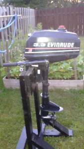 Evinrude 3.3 hp outboard short shaft
