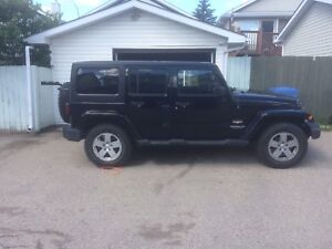 2011 Jeep Wrangler with lots of extras