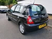2007 Renault Clio Campus 8V 1.1 Petrol - 39,000 Miles - Long MOT March 2018 - Drives Good