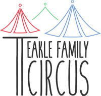 Circus Birthday Party - Teakle Family Circus - Juggling Hooping!