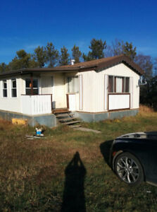 Mobile Home $25,000.00 on 10 Acres 10 minutes from the city does