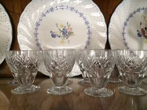 Giorgian Crystal Glasses water and liquor