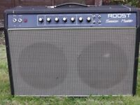 Roost 100 Watt 2x12 Guitar Combo Amplifier. All Valve. Perfect working order.