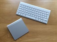 Perfect (Hardly Used) Apple Wireless Keyboard and Trackpad