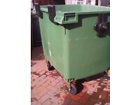 Big Green Wheelie Bin