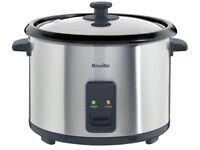 Breville 1.8L Rice cooker and Steamer like new
