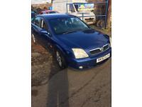 2002 (52) Vauxhall vectra 2.0dti