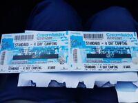 Creamfields 4 days camping Tickets x2