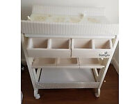 Babylo Elephant Baby Changing Table - Infant Bath Station and Easy Storage Unit
