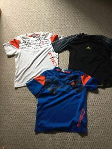 Adidas tshirts and shorts 8-9 years kids