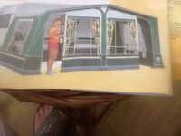 FULL SIZE CARAVAN AWNING APPROX 750cm