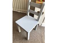 Child's solid chair