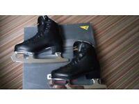 Graf Ice Skates Childs Black Size UK 1 EU 33 Excellent Condition!