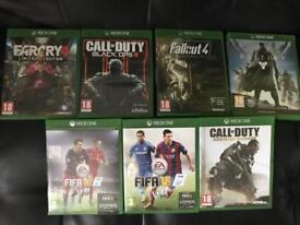 Xbox one games!!!