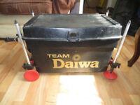Team Daiwa fishing box, fishing seat/bag