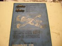 Hillman Minx 1 - 5. 1956 - 65 Autobook.