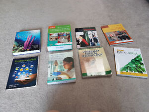 St. Lawrence College Veterinary Technician Text Books