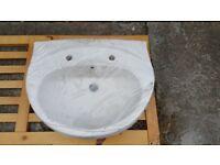 Sink 3 - hand basin / sink - for bathroom or WC etc