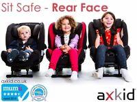 Axkid Minikid extended rear facing car seat