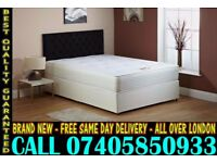 BRAND NEW Double Single King Size Dlvan Bed WITH MATTRESS. Burns