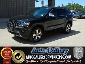 2016 Jeep Grand Cherokee Ltd. 4x4 *Lthr/Nav