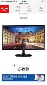Samsung 22inch Curved Monitor 4K