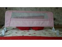Lindham Bed guard pink.