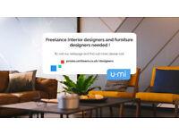 Freelance Interior Designers needed