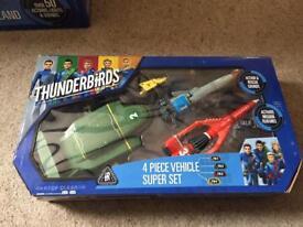 Thunderbirds vehicle bundle with original box