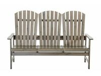 New! Garden 3 seater bench.