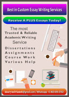 VANCOUVER- ACADEMIC WRITER- ESSAY WRITER- RESUMES- PROOFREADING!