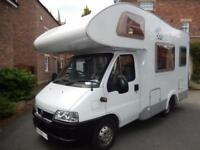 Knaus Sport Traveller 500D 2006 4 Berth End Washroom Motorhome For Sale