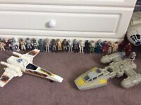 Vintage Star Wars figures and vehicles wanted