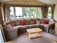 DOUBLE GLAZED, HEATED STATIC CARAVAN FOR SALE. 2017 SITE FEES INCLUDED. 11 MONTH SEASON. NORFOLK