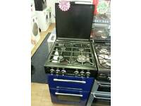 LEISURE 55CM GAS COOKER IN BLUE