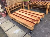 Pallet Coffee Table with reclaimed wood