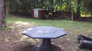 Big picnic table