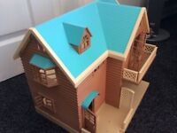 FOR SALE: Sylvanian families Larchwood lodge used but in immaculate condition