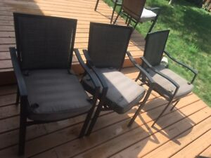 Patio chairs...set of 6