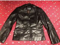 Gavin Brown Leather Jacket - Size 10