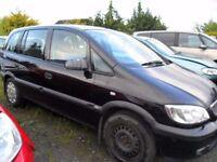 vauxhall zafira parts from 5 zafira cars petrol and diesel