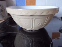 Mason Cash & Co 24cm Cane Mixing Bowl very good condition for it's age